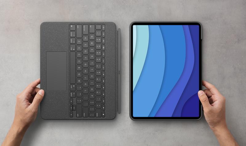 Logitech lanza Combo Touch para el nuevo iPad Pro de 12,9 pulgadas (5ª generación) y el iPad Pro de 11 pulgadas (3ª generación)