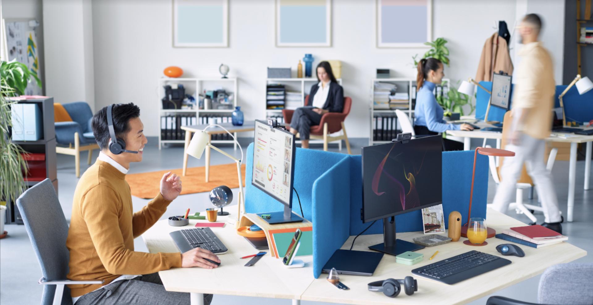 Logitech amplía su compromiso con las empresas y lanza la nueva tecnología inalámbrica Logi Bolt